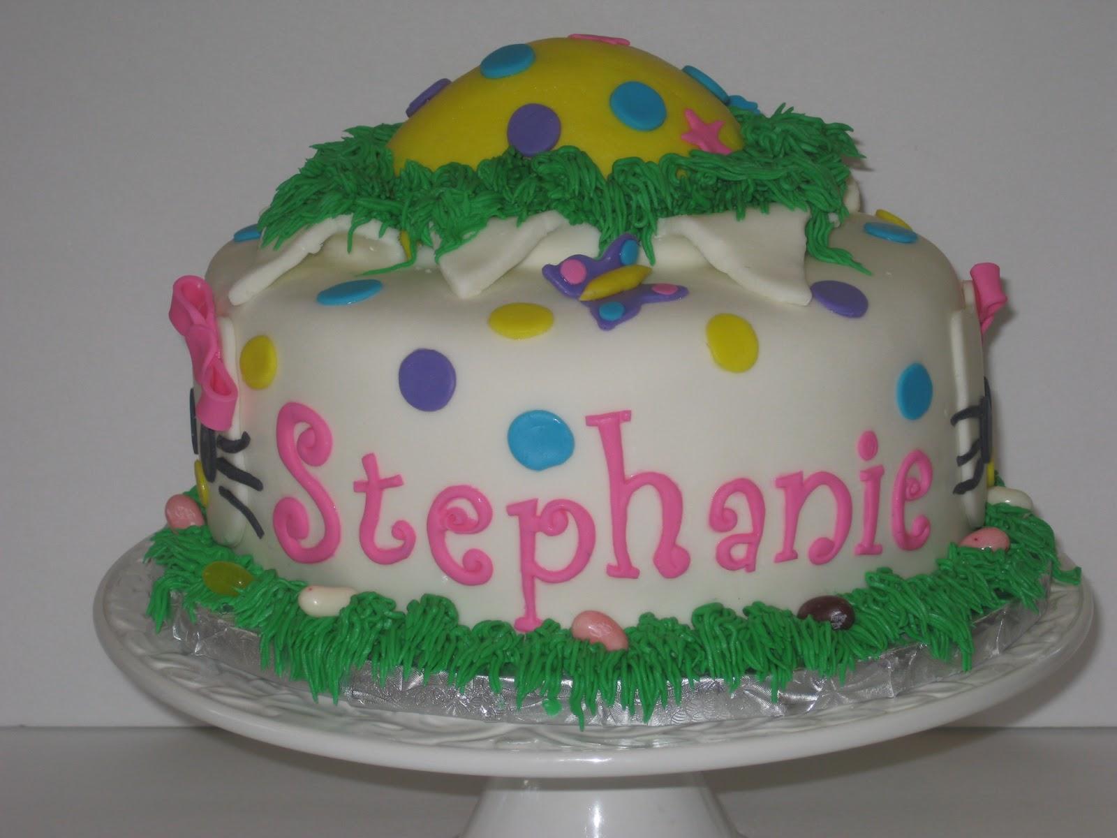 Cakes By Candice Happy Birthdayeaster Stephanie