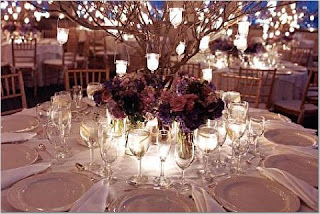 Beautiful Tall Wedding Centerpieces With Branches