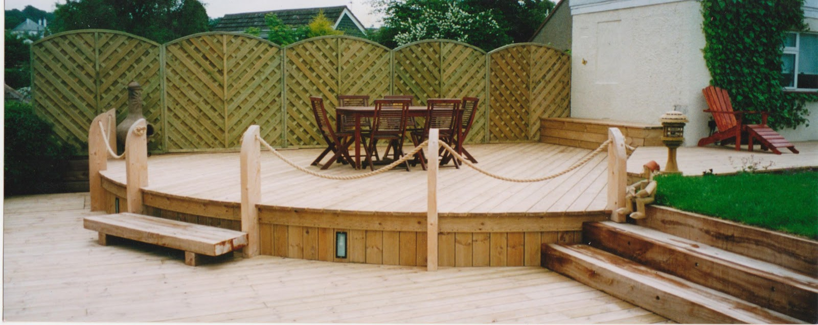 Garden Decking Edinburgh Decking Edinburgh Wwwgardencocom - Garden decking rope