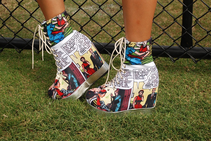 Fashion, personal style, outfit, post, comic, trend, Jeffrey Campbell, Blackmilk, Cartoon
