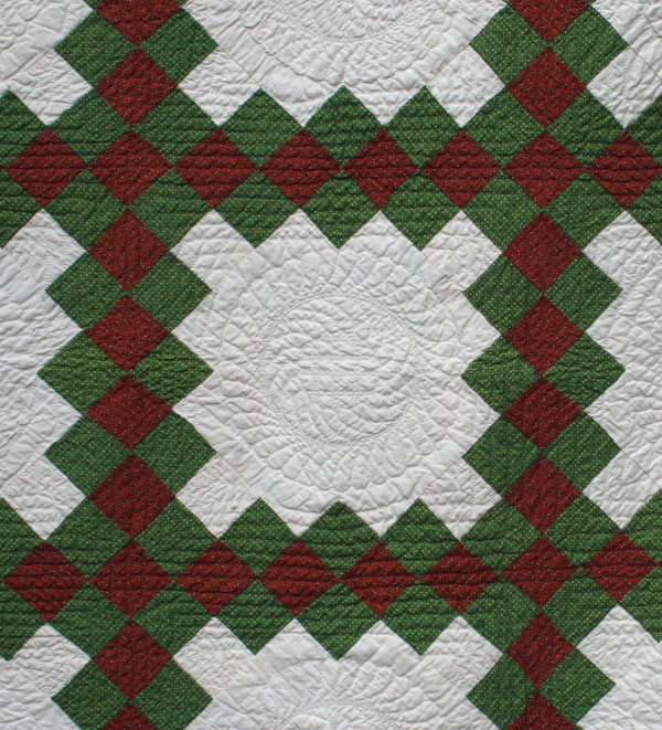 Irish Chain Quilt Pattern History : double irish chain The Quilt Complex