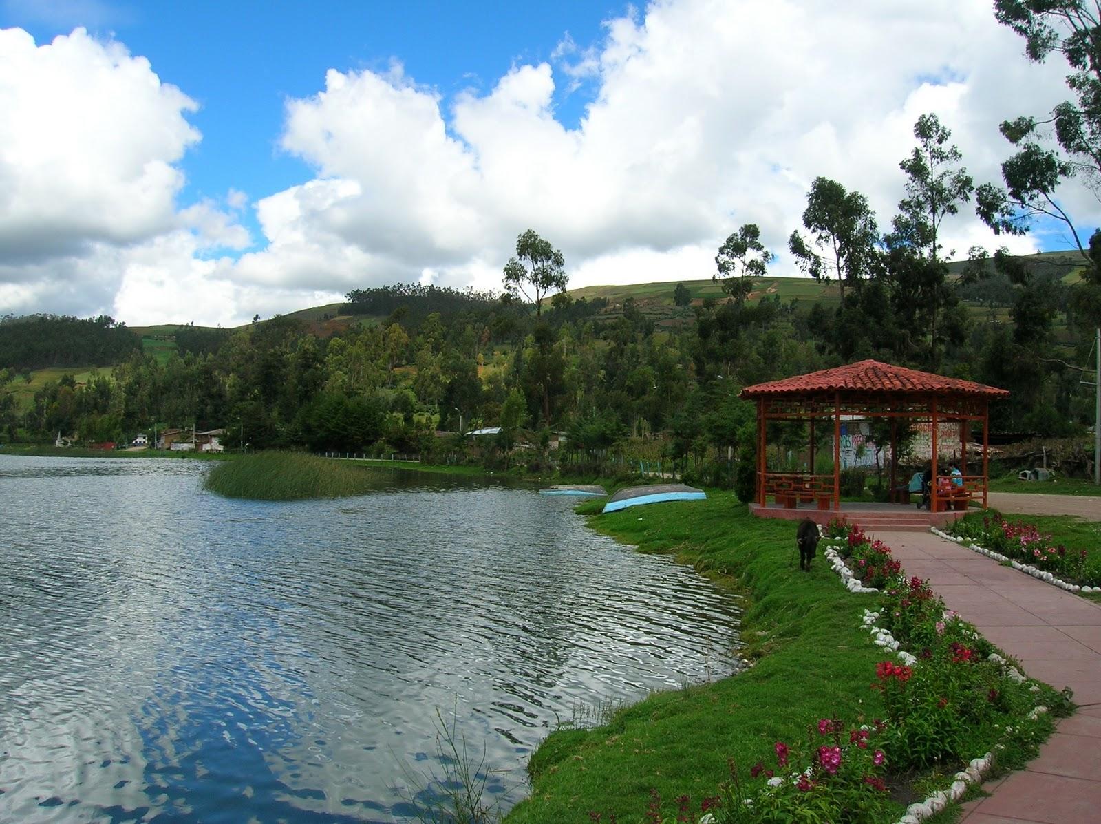 Lo mejor de mi tierra son los bosques de piedra de Llamcama y la laguna de Pacucha
