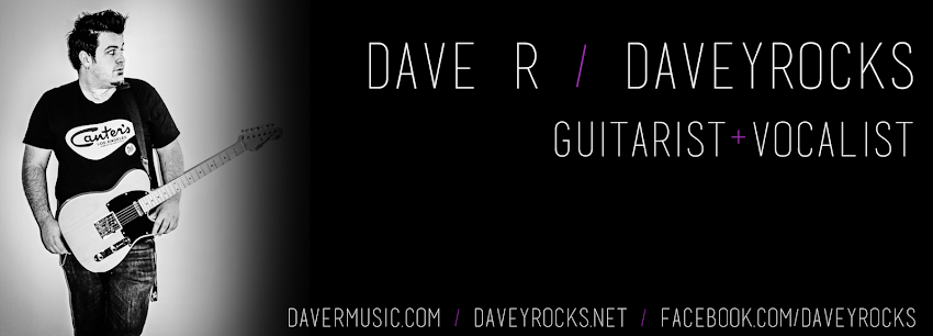 Dave R/daveyrocks - guitar and vocals