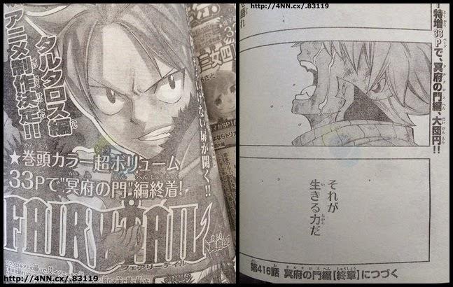 [ Info-Anime ] Manga Fairy Tail Akan Tamat Diakhir Bulan Januari