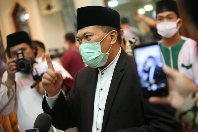 Walikota Bandung Keluarkan Inwal Penegakan Protokol Kesehatan