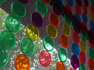 easy and fun rainbow suncatcher craft with bingo chips