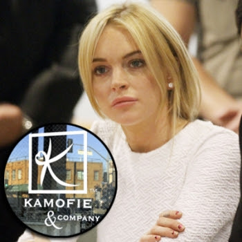 hot celebrity pics photos celebrity news lindsay lohan necklace case sitting in the courthouse