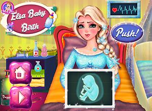 Elsa Baby Birth