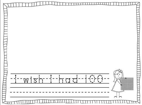100 Day Of School Coloring Pages