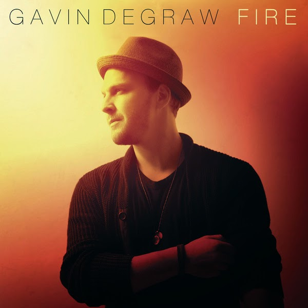 Gavin DeGraw - Fire - Single Cover