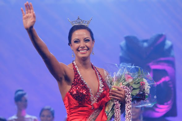 Miss Hawaii 2012 Skyler Kamaka