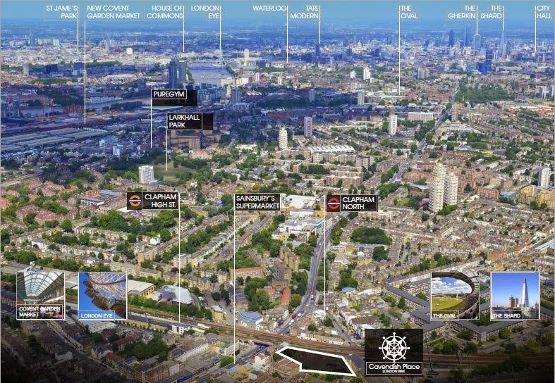 倫敦新成屋建案地點