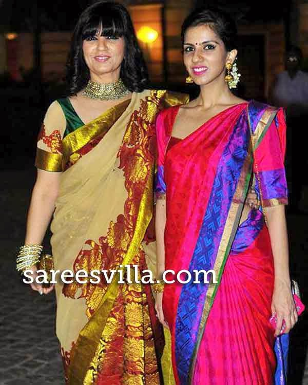 Neeta Lulla with daughter Nishka