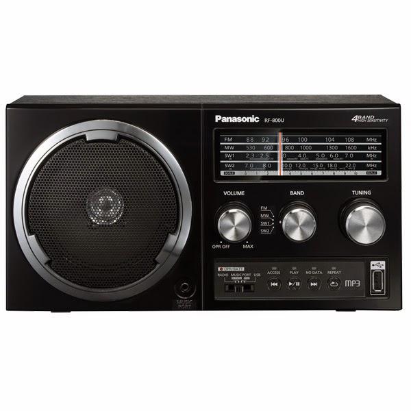 Радиоприемник Panasonic RF-800UEE-K отличное решение для дома и дачи