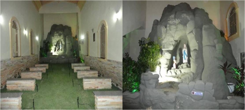 construir gruta jardim : construir gruta jardim:CATEDRAL: Gruta de N. Sra. de Lourdes.