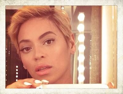 Beyonce Haircut 2013