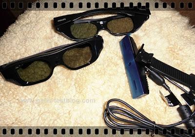 3D Shutterbrillen und Webcam