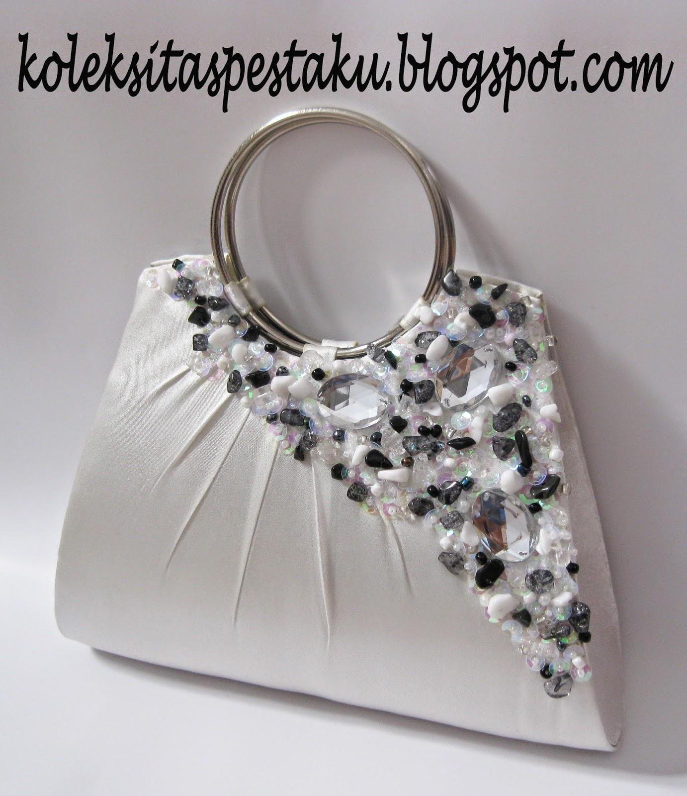Tas Pesta Putih Cantik