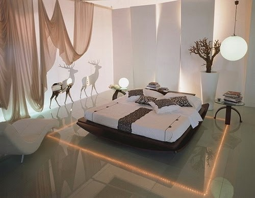 bedroom interior lighting design
