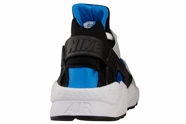 Nike Air Huarache (Black and Blue Hero)