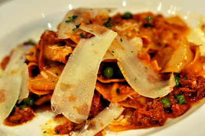 Pappardelle with Lamb at Marble Lane in New York, NY - Photo by Taste As You Go