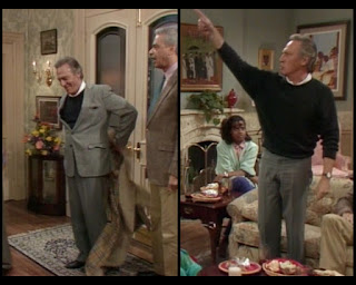Cosby Show Huxtable fashion blog 80s sitcom Christopher Plummer Jonathan Lawrence