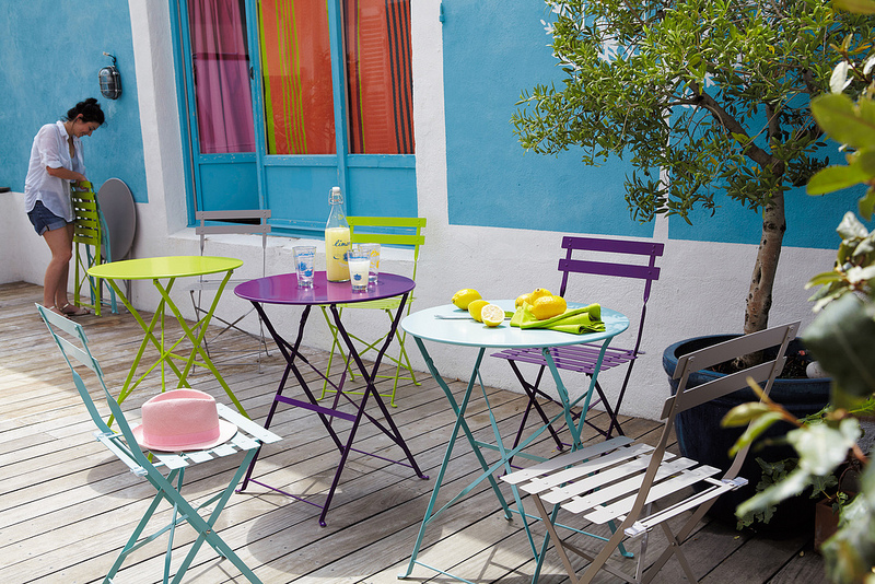 Seaseight design blog mad about maisons du monde outdoor - Maison du monde tavoli allungabili ...