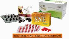 COMBO SNE - SNE CAPSULE +  SNE BEUTSKIN ESSENCE + SNE EXCEL TEA