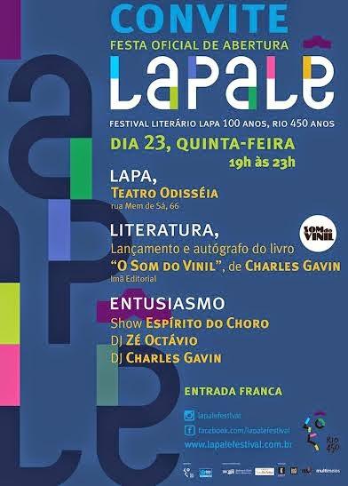 Lapalê: festival celebra cultura da Lapa