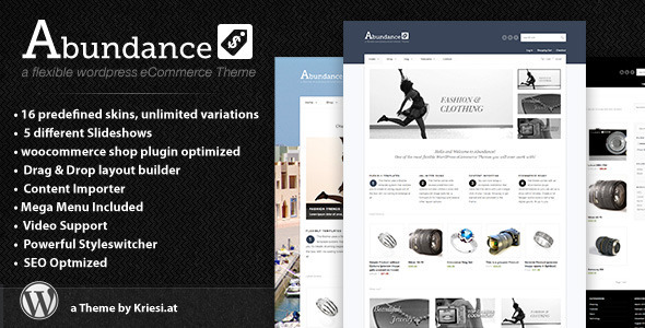 Image for Abundance – eCommerce Business Theme by ThemeForest