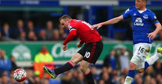 Everton vs Manchester United 0-3