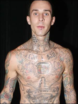 Travis Barker Cadillac Tattoo
