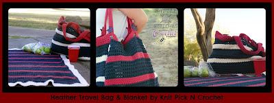 http://www.ravelry.com/patterns/library/heather-travel-bag-and-blanket