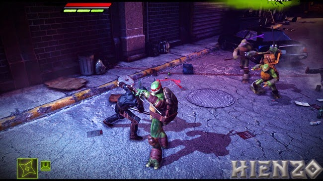 Teenage Mutant Ninja Turtles: Aus dem Schatten PC Gameplay