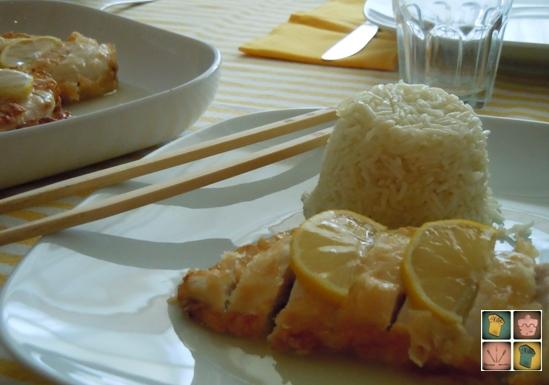 Mar a pollo al lim n - Pollo al limon isasaweis ...