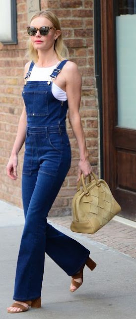 Kate Bosworth's Overalls look