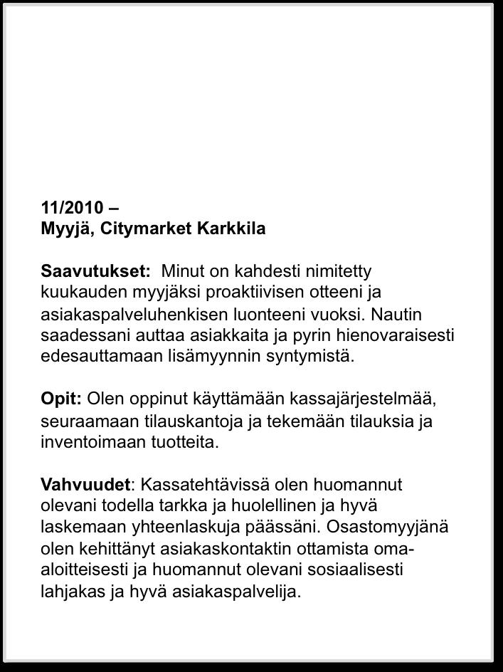 kesko kesätyö 2016 Vaasa