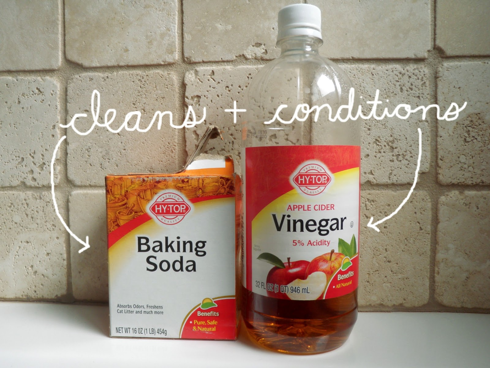 Baking Soda and Vinegar Hair Care