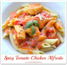 Spicy Tomato Chicken Alfredo