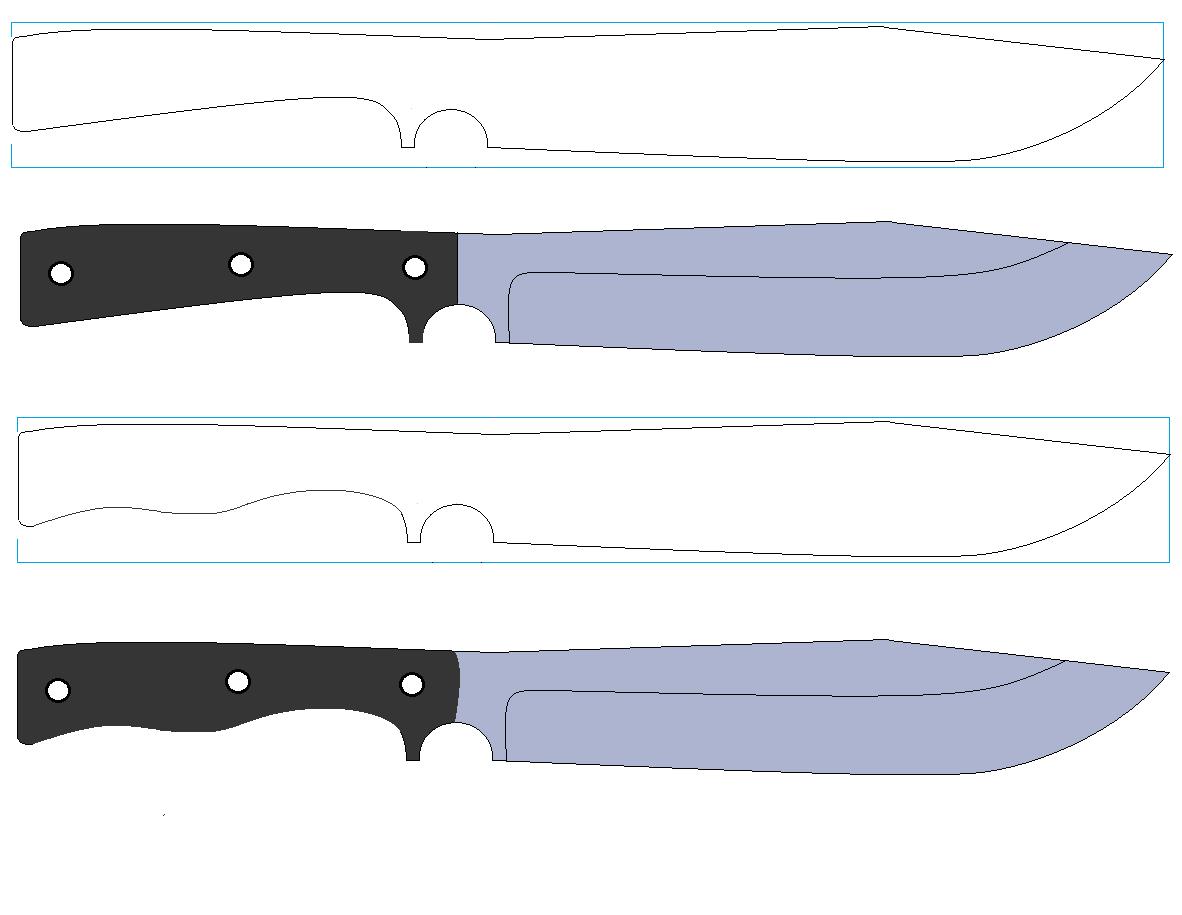 Как нарисовать нож карандашом поэтапно? - Полезная информация для всех 18