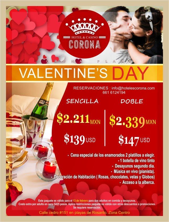 Celebra el Día de San Valentín