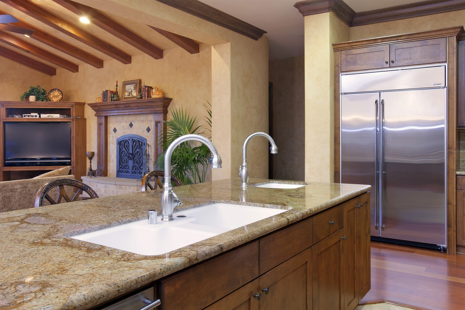 The breathtaking Brushed bronze kitchen faucet digital photography