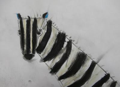 zebra art activity for kids