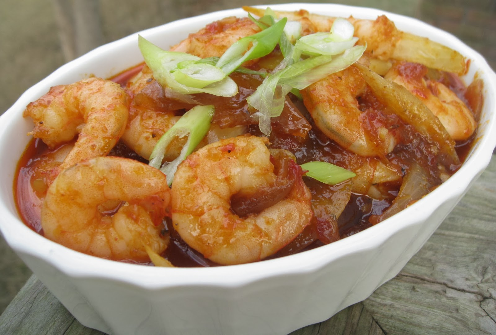 My Asian Kitchen: Sambal Udang (Spicy Chili Prawn)