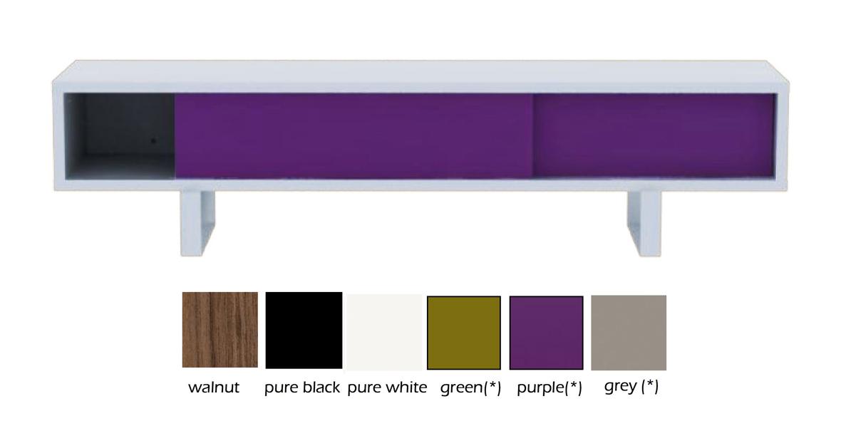 Urbindesign retro design meubels verlichting woon kadoaccessoires wonderland low slider - Eigentijdse designkast ...