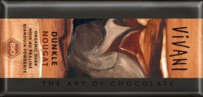 Vivani Dunkle Nougat Schokolade