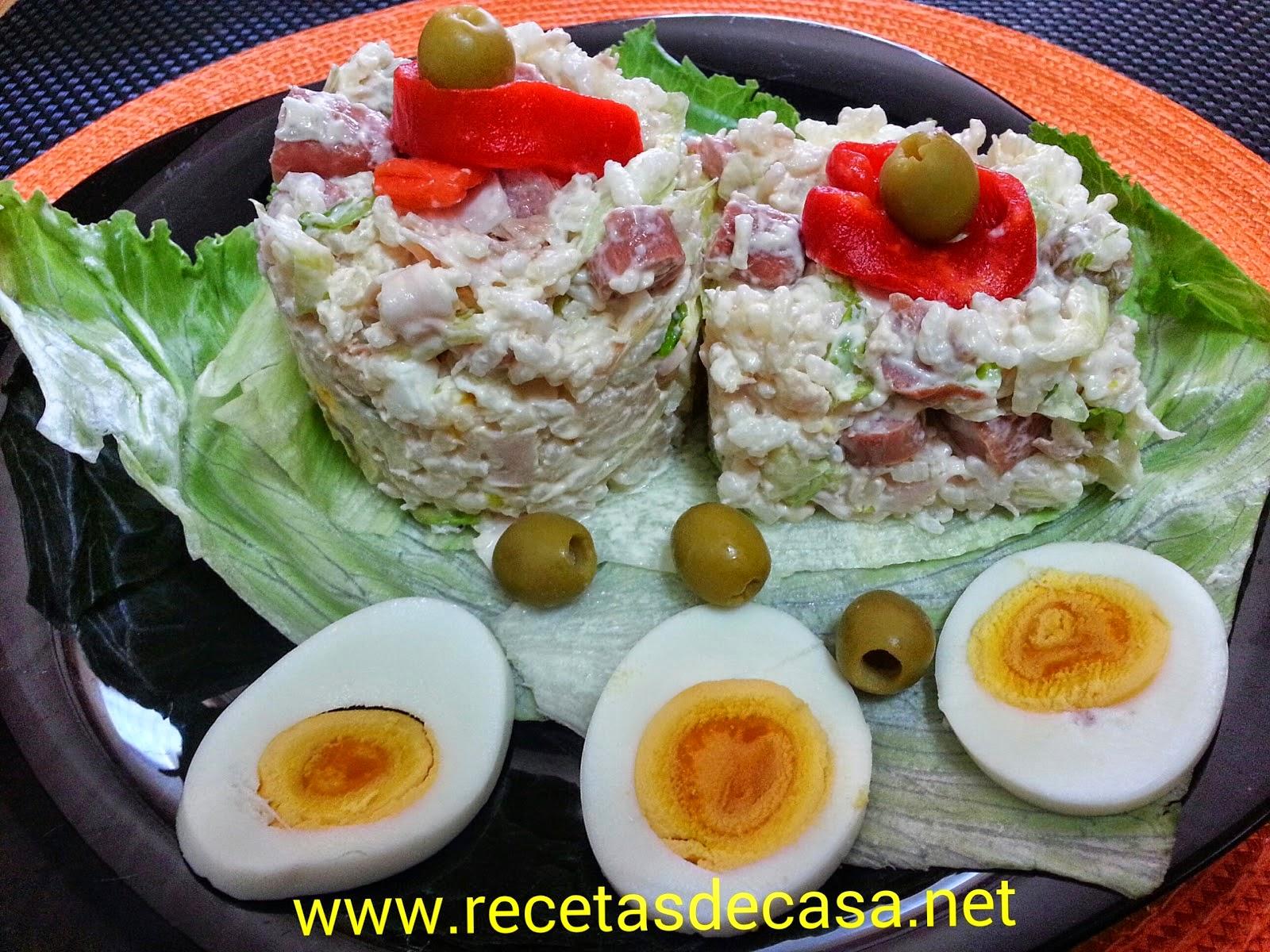 Ensaladas frias cocinar en casa es - Decoracion de ensaladas ...