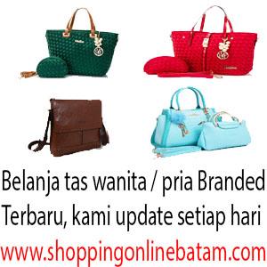Shopping Online Batam - Grosir Tas Batam, Tas Wanita Branded