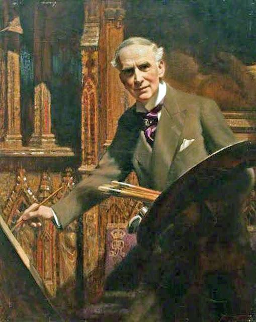 Frank O Salisbury, Portraits of Painters, Self Portraits