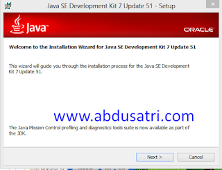 cara setting JDK di win 7
